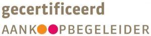 Logo gecertificeerd aankoopbegeleider